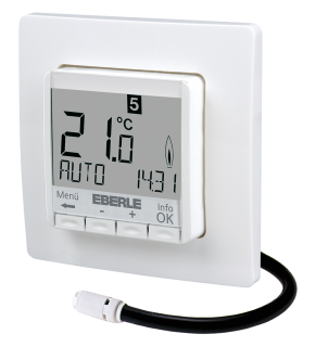 Unterputz Fußbodentemperaturregler Eberle FIT  3F