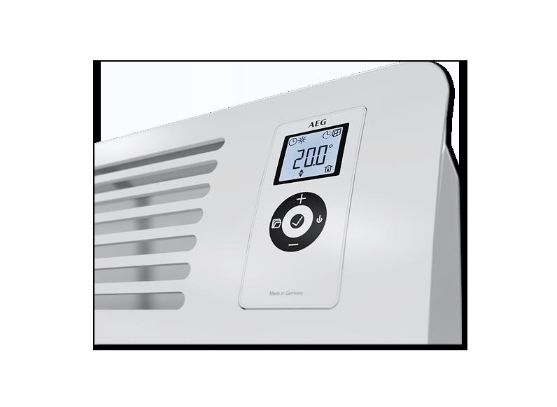 AEG Wandkonvektor WKL 1500 Comfort (1,50kW) mit elektronischem Raumtemperaturregler