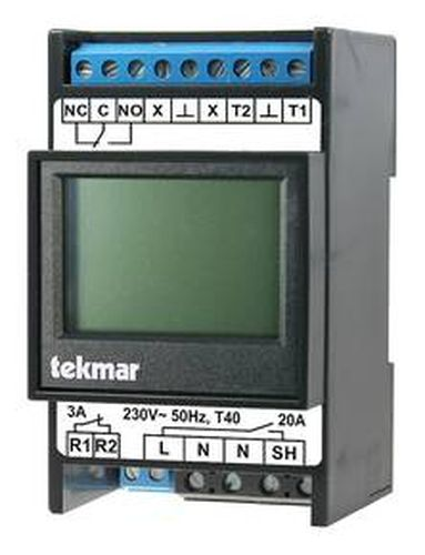 Tekmar Temperaturregler 1883/L-UTR mit Touch-Grafik Display