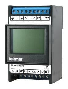 Tekmar Zentralsteuergerät 1881-WSG für Fußbodenheizung