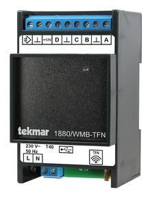 Tekmar 1880 Gateway Modbus zur Anbindung Gebäude-Leittechnik