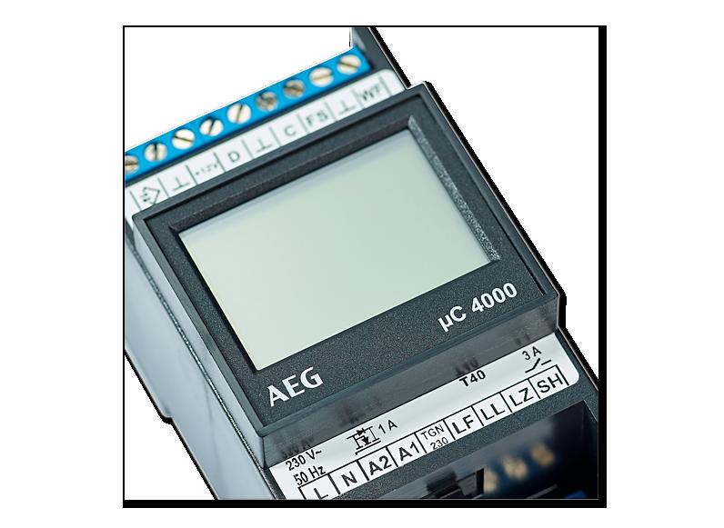 AEG Aufladesteuerung ELFAMATIC µC 4000 (DC/ED/TGN) mit Fühler