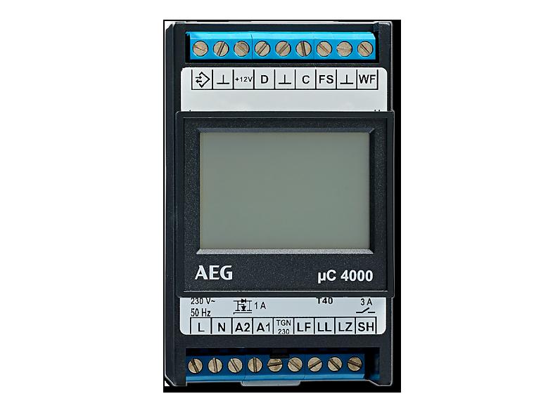 AEG Aufladesteuerung ELFAMATIC µC 4000 mit Fühler