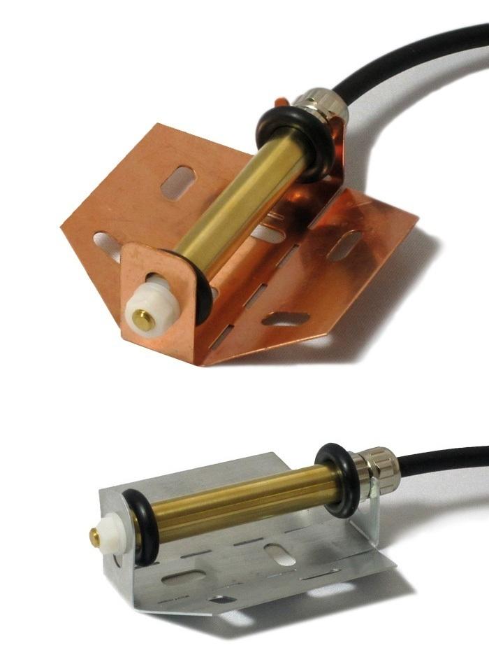 Tekmar Montageblech Kupfer für Fühler 3354