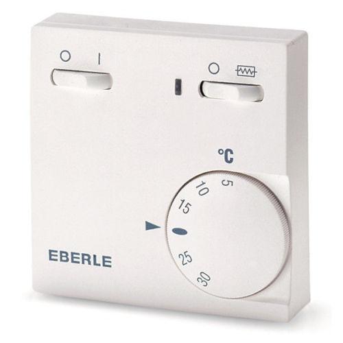 Eberle Raumtemperaturregler  RTR-E 6181 Öffner, Schalter EIN/AUS, Schalter Zusatzheizung